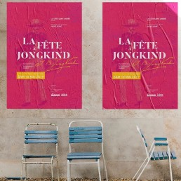 Campagne affichage Jongkind - Agence de communication Kineka
